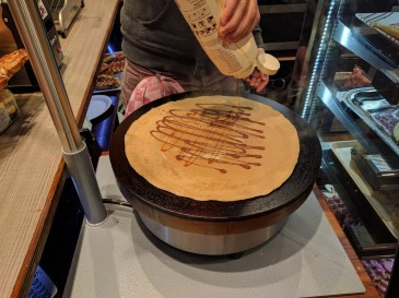 The making of Crepes