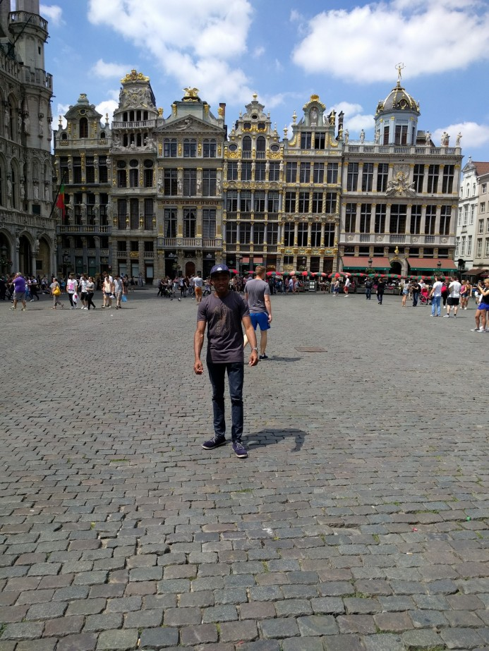 At the Grote Markt