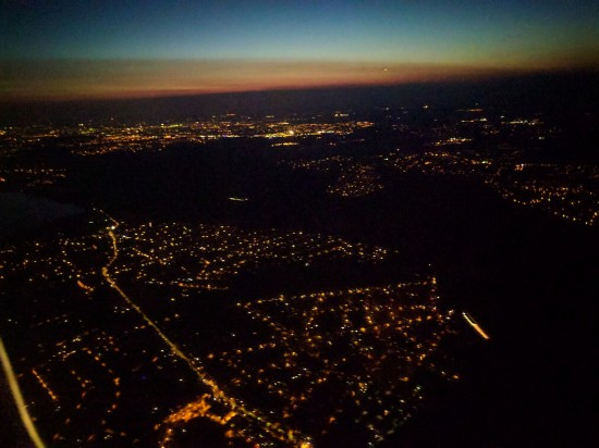 The Return   Berlin at Night